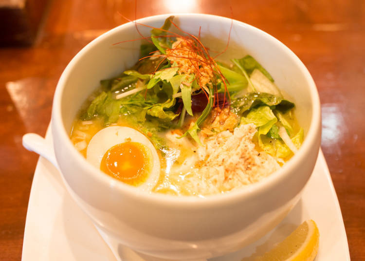 3. Toripaitan Kageyama: Wonderful Marriage of Chicken and Ramen!