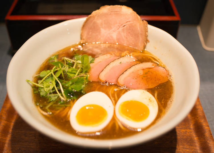 4. Ushio: Try Next-Generation Soy Sauce Ramen, a Fusion Between Modern and Traditional