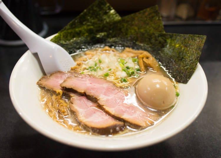 東京必吃拉麵②排隊美食~濃郁魚介醬油拉麵「特製麵」/麵處 晴