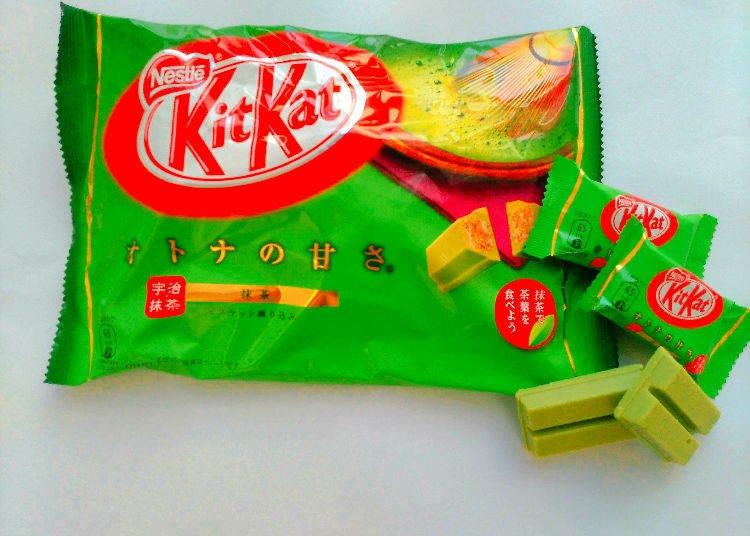 2. KiKat Minis Otona no Amasa Matcha