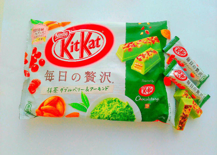 4. KitKat Luxury Every Day Matcha Double Berry and Almond
