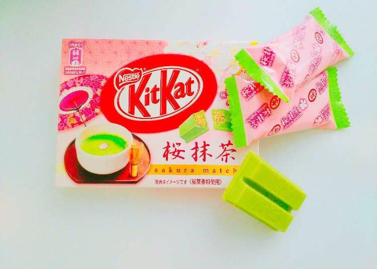 9. KitKat Sakura Matcha