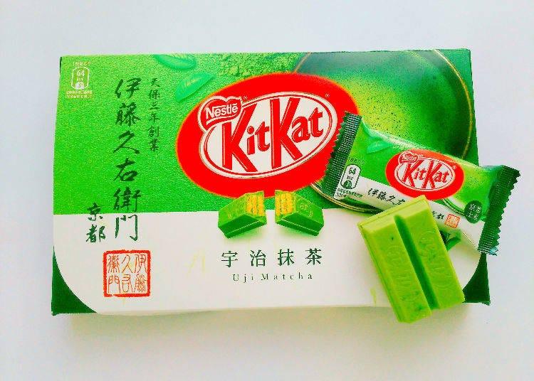 10. KitKat Itohkyuemon Uji Matcha 12 Pieces - 800 yen
