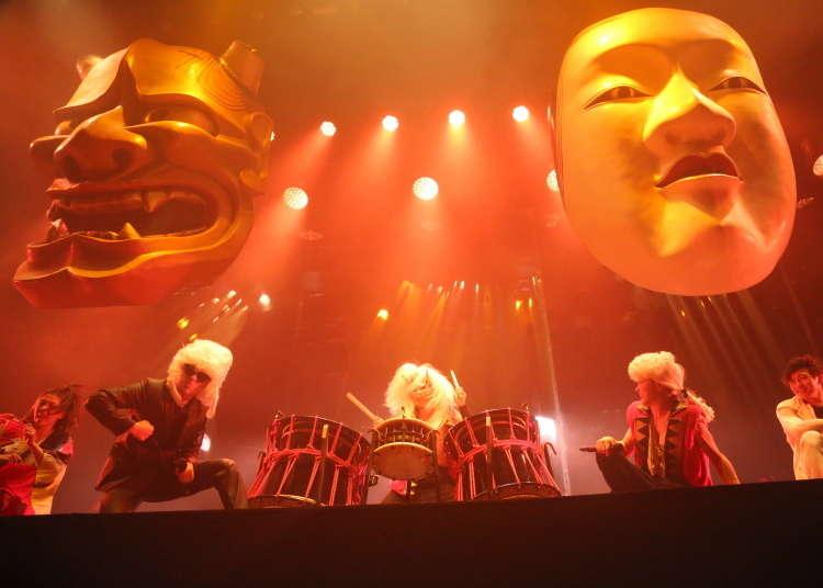 武士、忍者、藝妓奔走的娛樂表演,『極限震撼』的最新作品「WA!!」,就在東京!