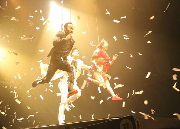 닌자가! 사무라이가! 게이샤가 질주하는 쇼 '푸에르자부르타'의 최신작 'WA!!'를 도쿄에서 체험한다!