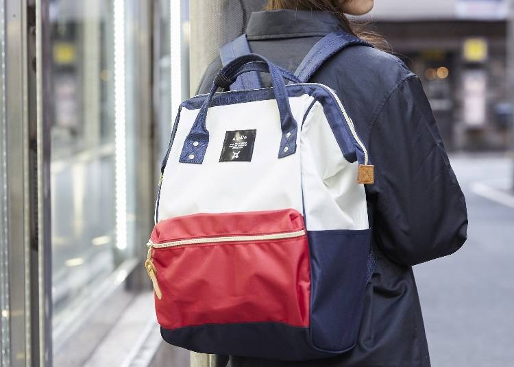1. Kuchigane Rucksack: A Spacious Anello Backpack that's Fancy and Comfy