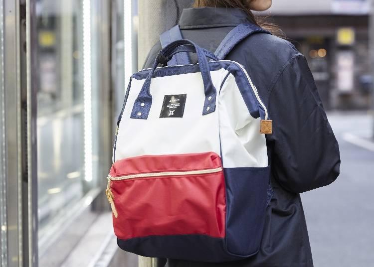熱銷的「口金大開口後背包」方便取出放入的大容量背包