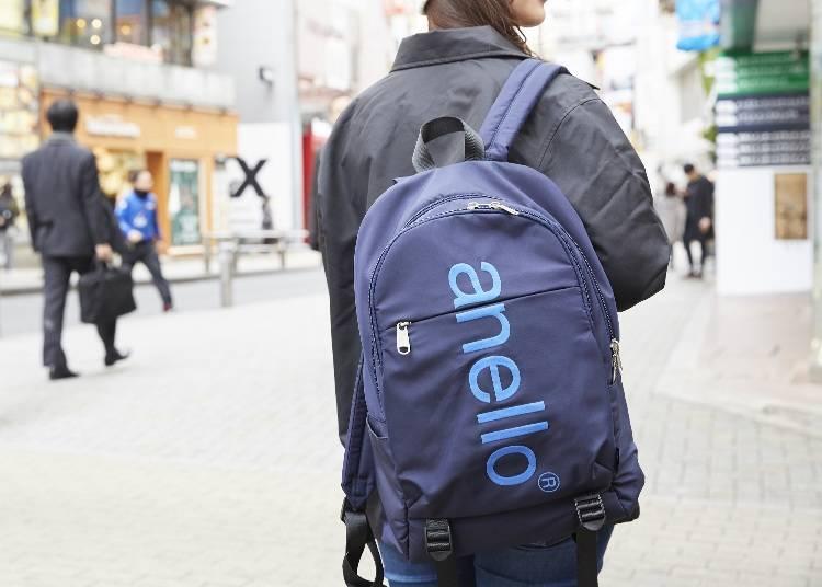 新款「大LOGO印刷設計後背包」以運動風設計以及大容量為其特色!