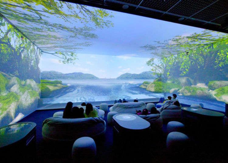 【免費】超壯觀立體劇場!享受室內玩水樂趣!冷天的好去處「東京都水科學館」