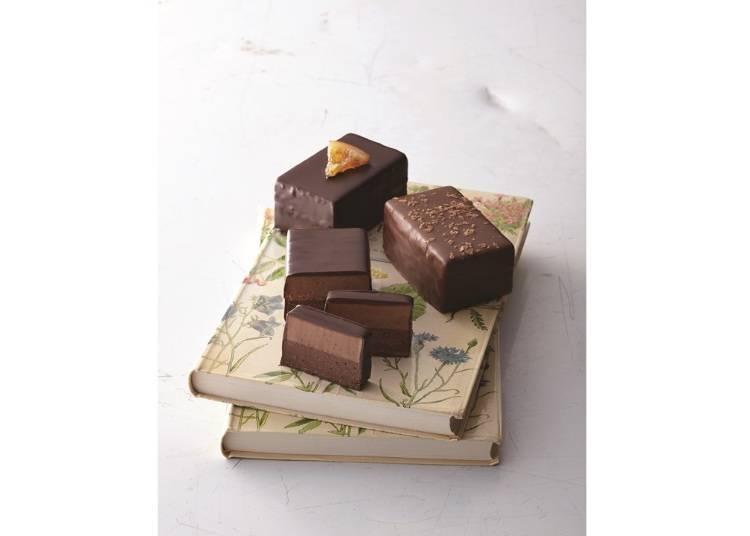 ・スライスして食べる、斬新な発想のショコラバー/ショコラティエール・ドゥ・マルセイユ