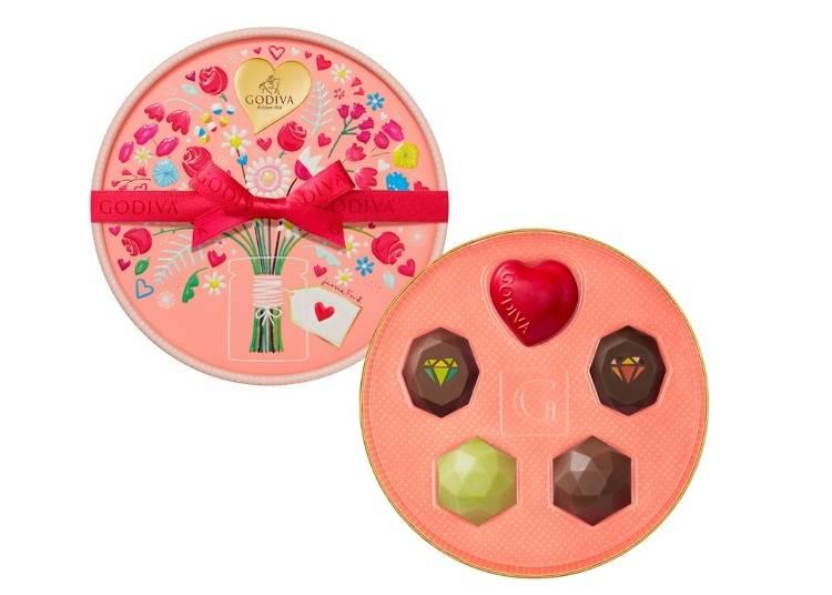 ・宝石のようにかわいい、バレンタイン限定商品/ゴディバ