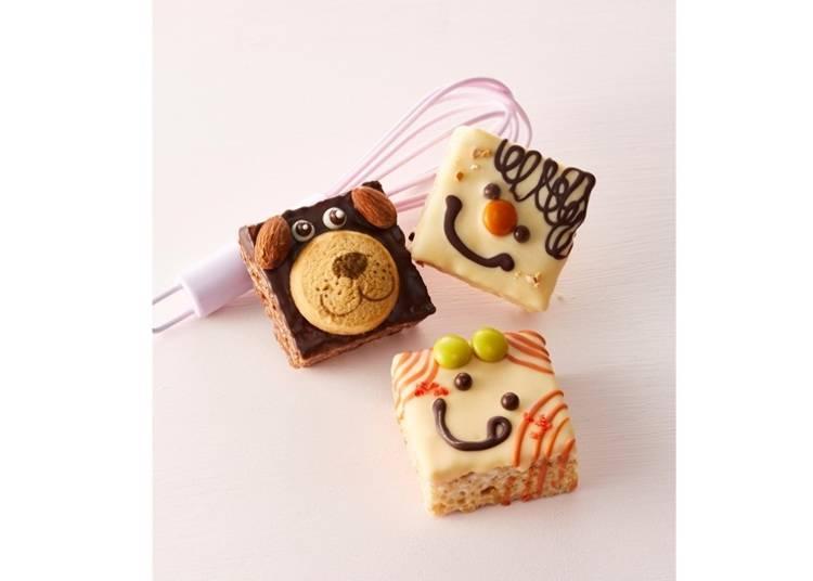 ・新食感が楽しいショコラスイーツ/マシュー&クリスピー