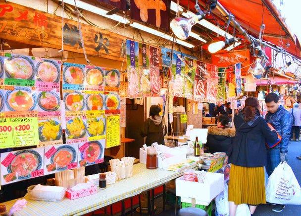 1. Minatoya (Seafood bowls, Takoyaki)