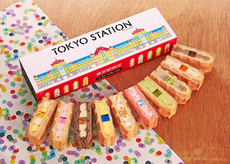 第3名 「東京車站限定 夾心鬆餅10入組」