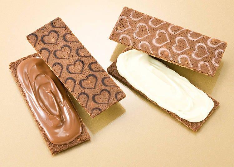 第2位 「銀葡萄巧克力夾心<杏仁果>」
