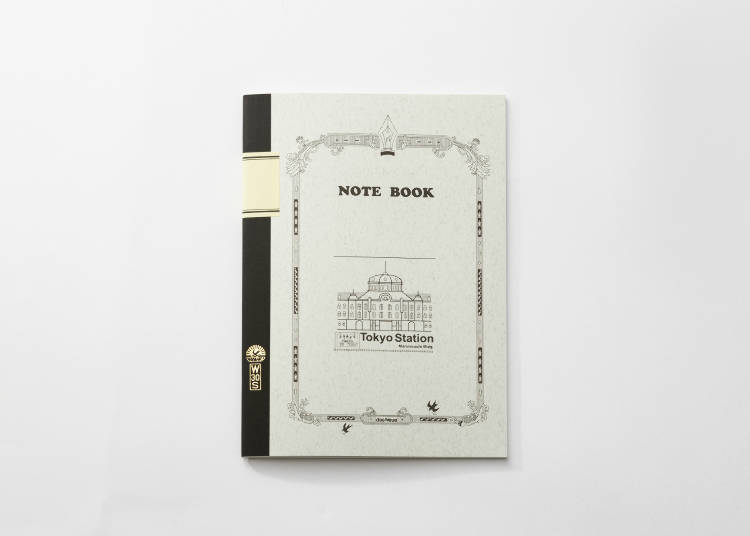 Souvenirs Only Available at Tokyo Station #4 - Tsubame Note: Tokyo Building (410 JPY)