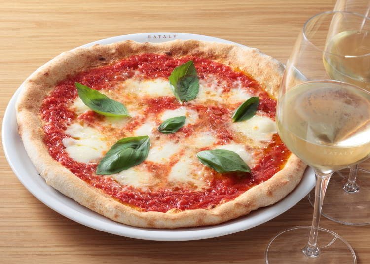 Recommended Dishes #2 - Margherita Pizza (1,814 JPY)