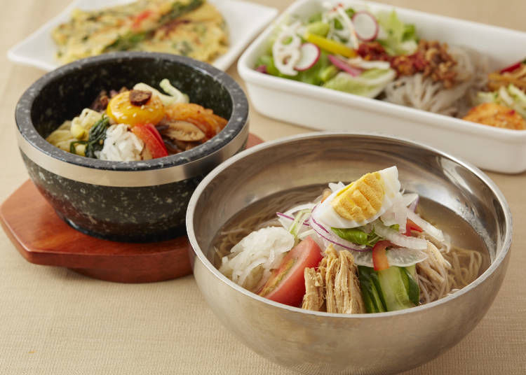 Recommended Dishes #5 - Free-Choice Half & Half Meal (1,166 JPY)