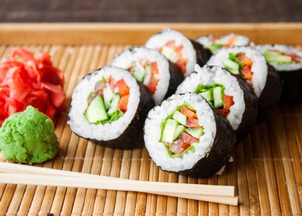 12 Vegetarian & Vegan Sushi Rolls You'll Want to Try
