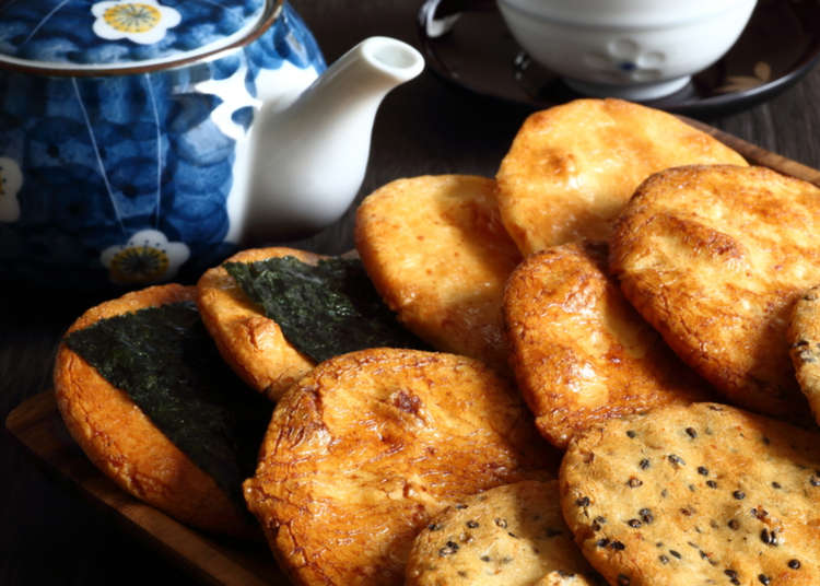 "Crispy, Tasty & Addictive! All About Japanese ""Senbei"" Rice Crackers"