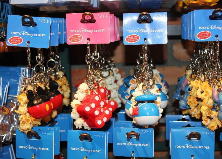 尋找被爆米花藏起來的迪士尼人物!鑰匙圈・鑰匙吊帶