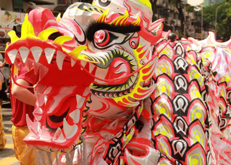 Festivals in Japan for Chinese New Year