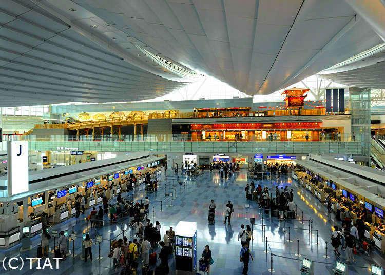 來去東京的好選擇!羽田機場出入境大廳超實用完整攻略 跟著這樣走準沒錯!