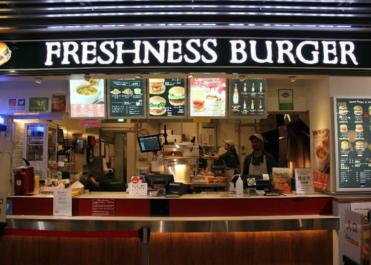 Freshness Burger: A Tasty Burger in a Stylish Atmosphere