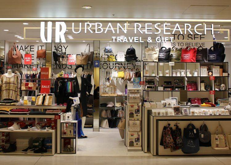 Urban Research Travel & Gift – Terminal 1, Central Building 4F