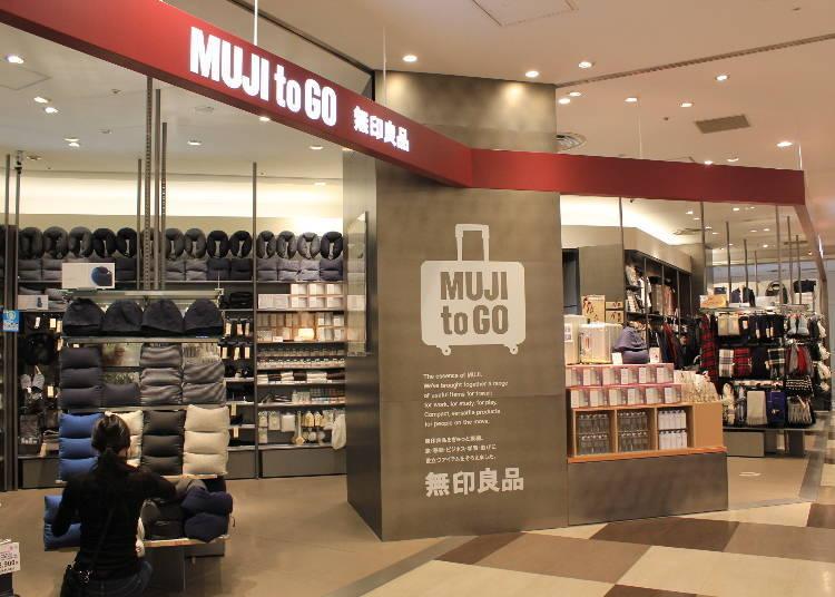 MUJI to GO – Terminal 2, 4F