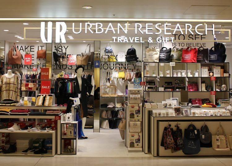 URBAN RESEARCH TRAVEL&GIFT(제1 터미널 중앙 빌딩 4층)