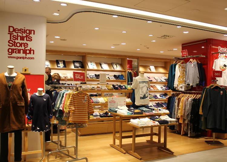Design Tshirts Store graniph/第一航廈 中央棟 四樓