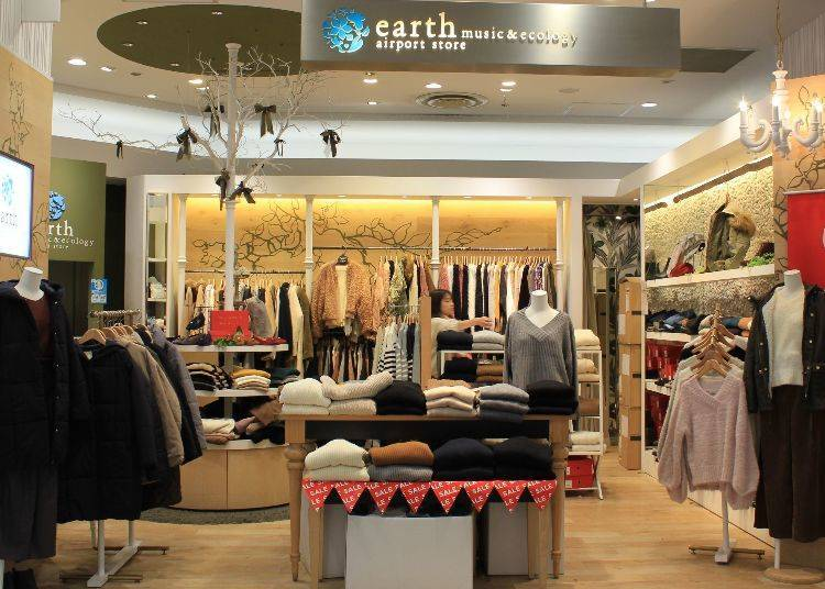 earth music&ecology AIRPORT STORE/第二航廈 四樓
