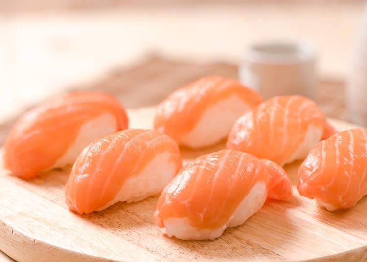 Everyone's #1 Favorite Sushi Topping: Salmon!