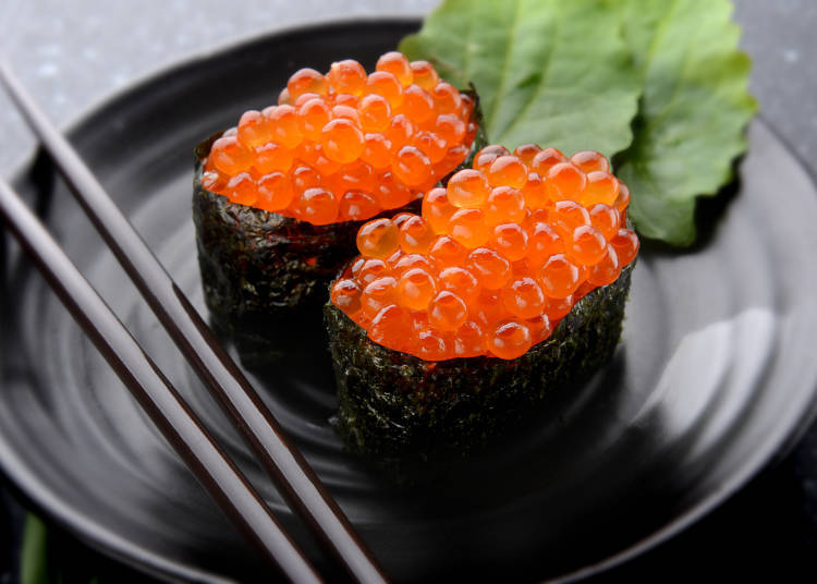 Least Favorite Sushi Toppings: Ikura (Salmon Roe) Comes in First!