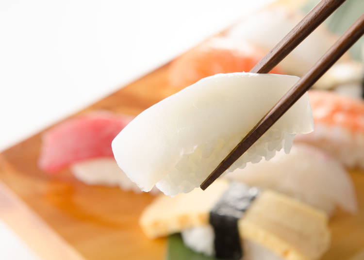 Squid is the #2 of Least Favorite Sushi Toppings!
