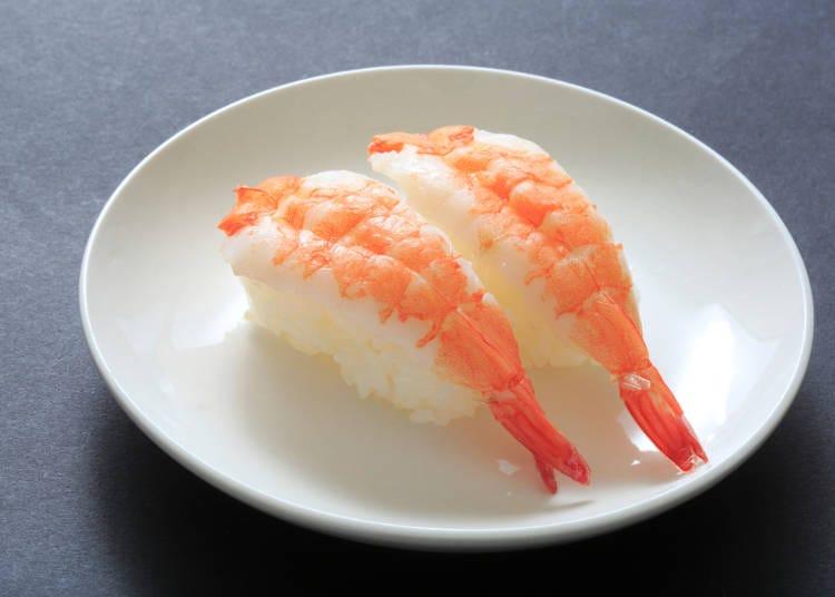 日本の回転寿司ならではのユニークさ!好きな寿司ネタNo.2は「海老」
