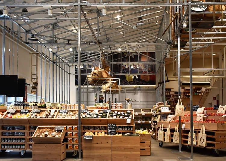 1F-Green Market, MUJI Hut, Home Gardening, and Information Desk