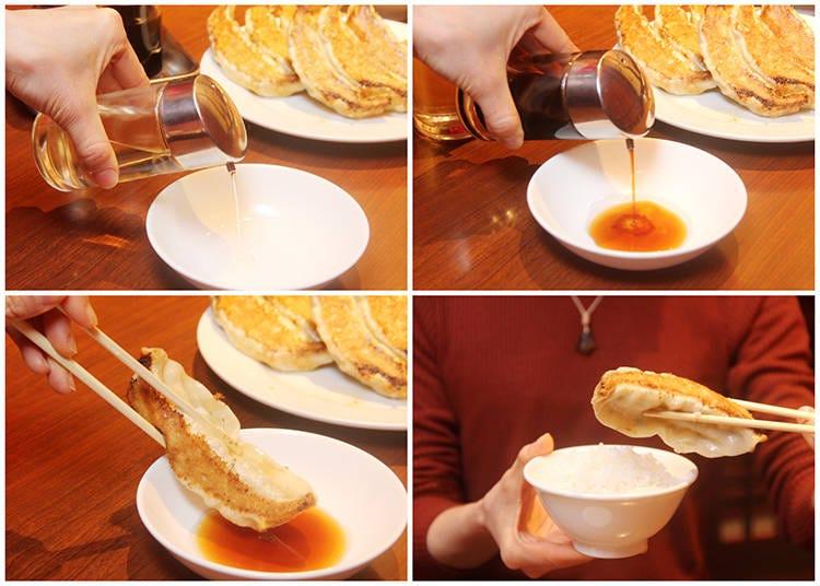 How to Eat Japanese Gyoza