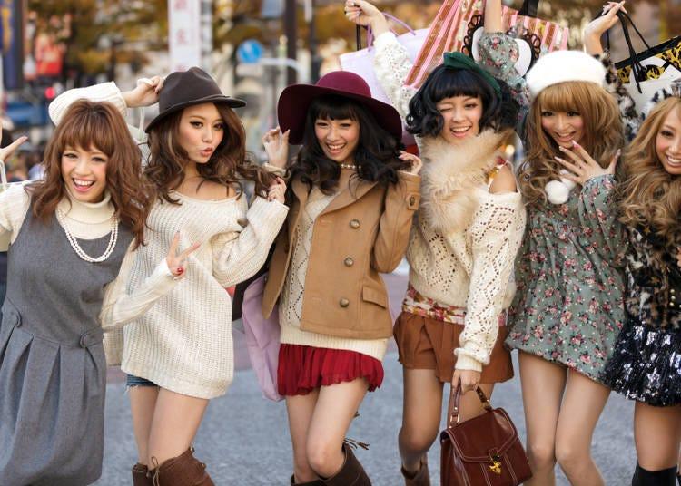 7.女の子のファッションセンスがいい!