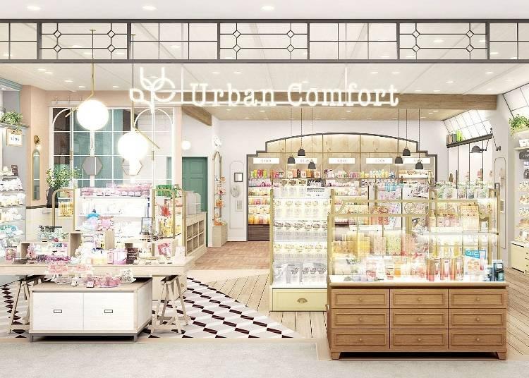 為了忙碌的女性設計的時尚美妝店!『Urban Comfort上野店』