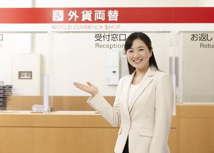 來日本旅遊不用再為了換日幣煩惱!『WorldCurrenc Shop atré 上野店』