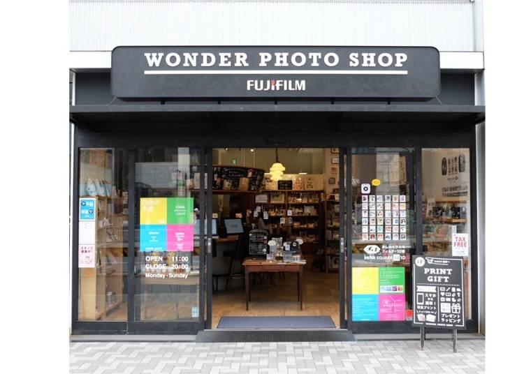 写真がもっと楽しくなる秘密がいっぱい!『WONDER PHOTO SHOP』