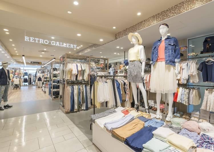 低價格即可入手基本款休閒服!『RETRO GALLERY池袋P' PARCO店』