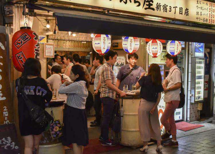 Guide to Japanese Bars: From Tachinomi to Yokocho