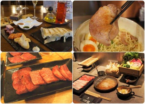 孤獨的美食家們來吃吧!東京一個人吃飯大歡迎的餐廳名單