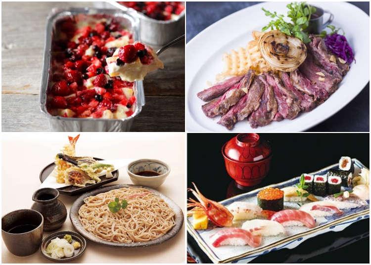 東京の百貨店・商業施設の人気レストランのイチオシグルメ!実は料理もすごいんです!!