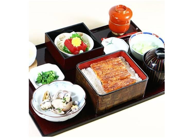 맛있는 장어와 계절 요리를 맛볼 수 있다 / 우나기 시부야 마츠카와(도부백화점 점 서관 9층)