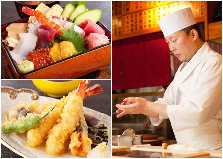 1. Asakusa Sushi Ken (Sushi)