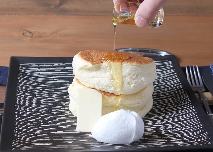 #4. Benitsuru: Serving the Fluffiest Japanese Pancakes in all of Asakusa!